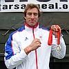 Olympian Josh West at the Tidworth 10k